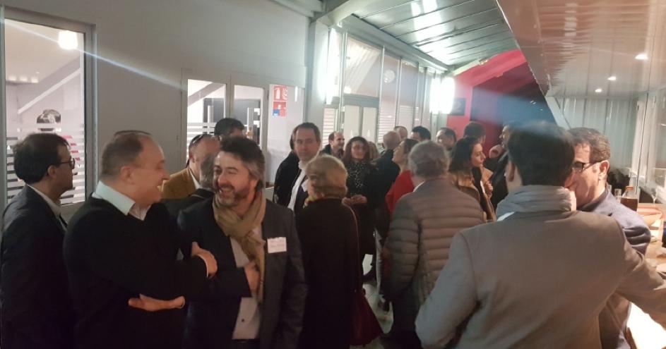 Les dirigeants de Coris Networks participent au lancement du CDRT Occitanie